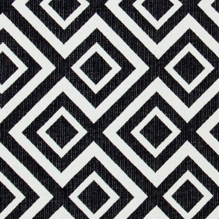Black White Geometric Upholstery Fabric - Heavyweight Woven Textiles for Furniture - Geometric Home Decor - Black White Pillow Covers Online by PopDecorFabrics on Etsy https://www.etsy.com/listing/171540131/black-white-geometric-upholstery-fabric