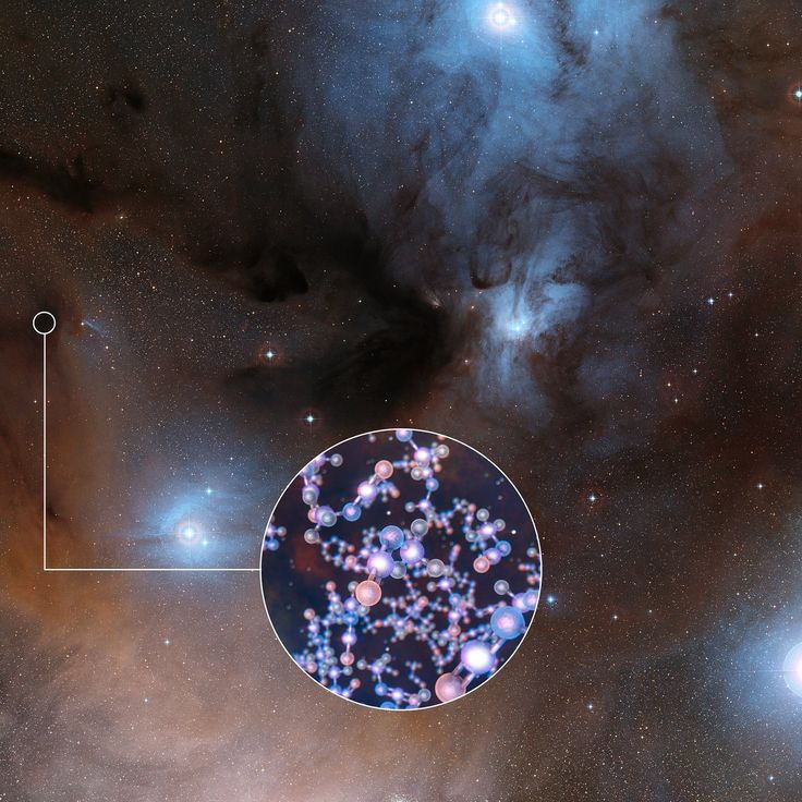 ALMA Finds Ingredient of Life Around Infant Sun-like Stars  Two teams of astronomers have harnessed the power of the Atacama Large Millimeter/submillimeter Array (ALMA) in Chile to detect the prebiotic complex organic molecule methyl isocyanate in the multiple star system IRAS 16293-2422.   #(ALMA) #molecules