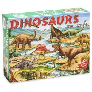 Пазл напольный 'Динозавры', 48 элементов, Melissa & Doug [421]
