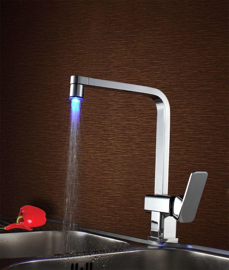 17 best LED Faucets images on Pinterest | Bathroom basin taps ...
