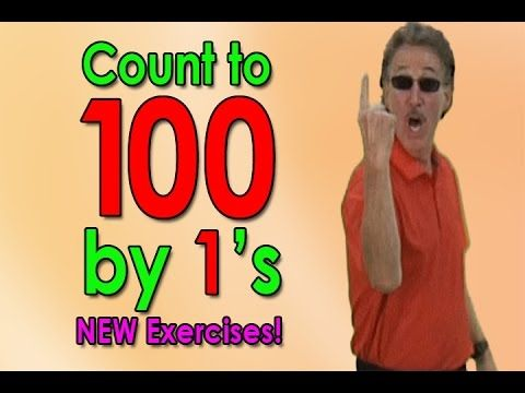 New Count To 100 Song | Let's Get Fit ver. 2 | Counting to 100 by 1's | Jack Hartmann - YouTube