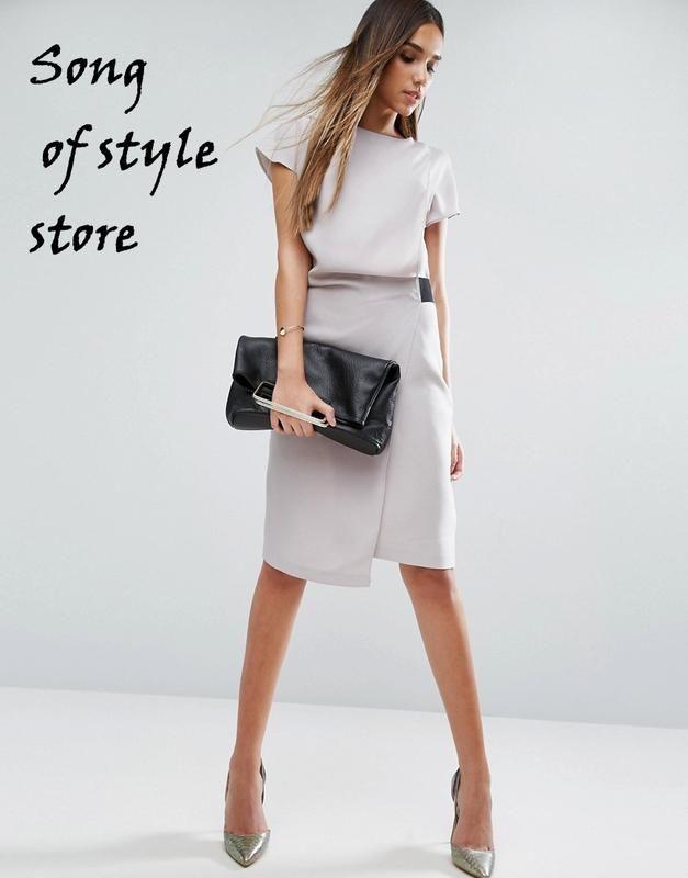 Asos платье-карандаш с драпировкой и эластичной деталью ASOS за 1085 грн.