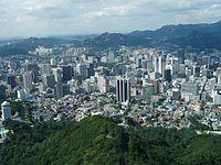 Corea del Sur La ciudad de Seúl experimentó un rápido crecimiento urbano durante las décadas de 1980 y 1990