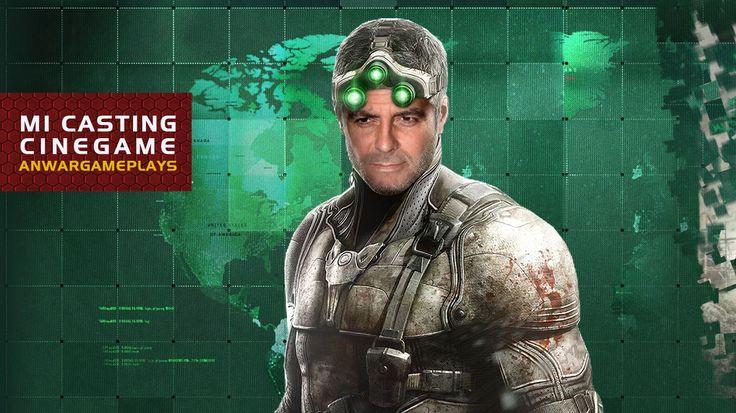 George Clooney como Sam Fisher (Splinter Cell: Blacklist)