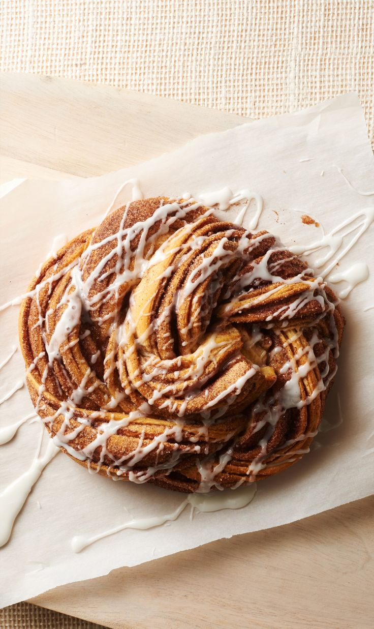 Cinnamon-Sugar Crescent Twist Bread - This simple yet impressive cinnamon crescent twist is bursting with cinnamon-sugar flavor. It's a sure hit for breakfast or brunch!