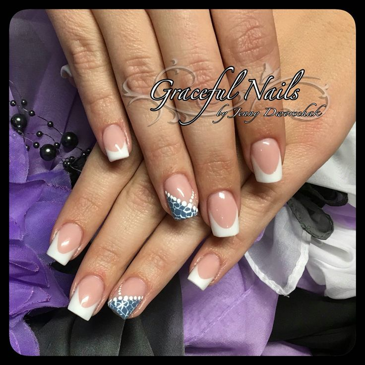 54 best nails fullcover french malerei gel acryl n gel 3d schmuck graceful nails images on. Black Bedroom Furniture Sets. Home Design Ideas