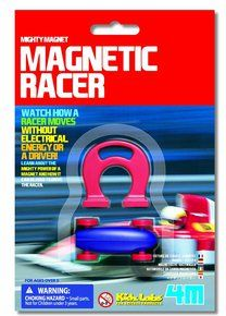 4M Mighty Magnet Magnetic Racer. Available at OurPamperedHome.com