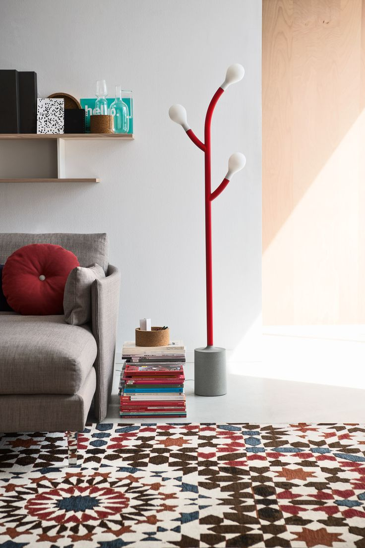 The POM POM floor lamp is the result of the botanical study of a few exotic plant species that inspired young and talented italian designers, and made it to be a part of CODE family. #calligaris #toronto #code