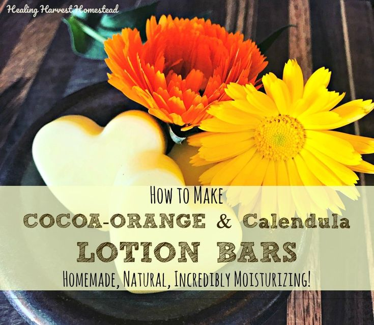 Do you have cracked, dry heels? And do you LOVE the smell of Chocolate & Orange? I do! In both cases...So, here is my best recipe for Cocoa-Orange scented natural handmade Lotion Bars! You'll love this recipe, and the lotion bars make great gifts for friends and loved ones. Even kids will love t