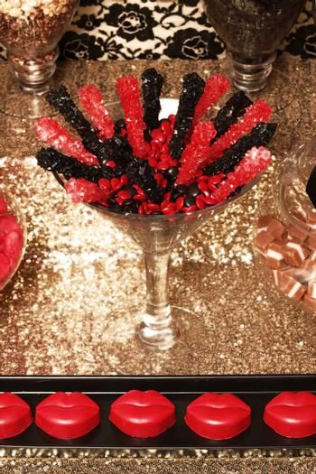Hostess with the Mostess® - Burlesque Party Table
