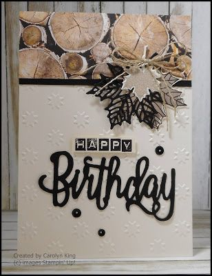 Carolyn King, Independent Stampin' Up! ® Demonstrator