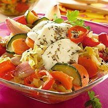 Weight Watchers - Pikant-zoete groentensalade – 6pt