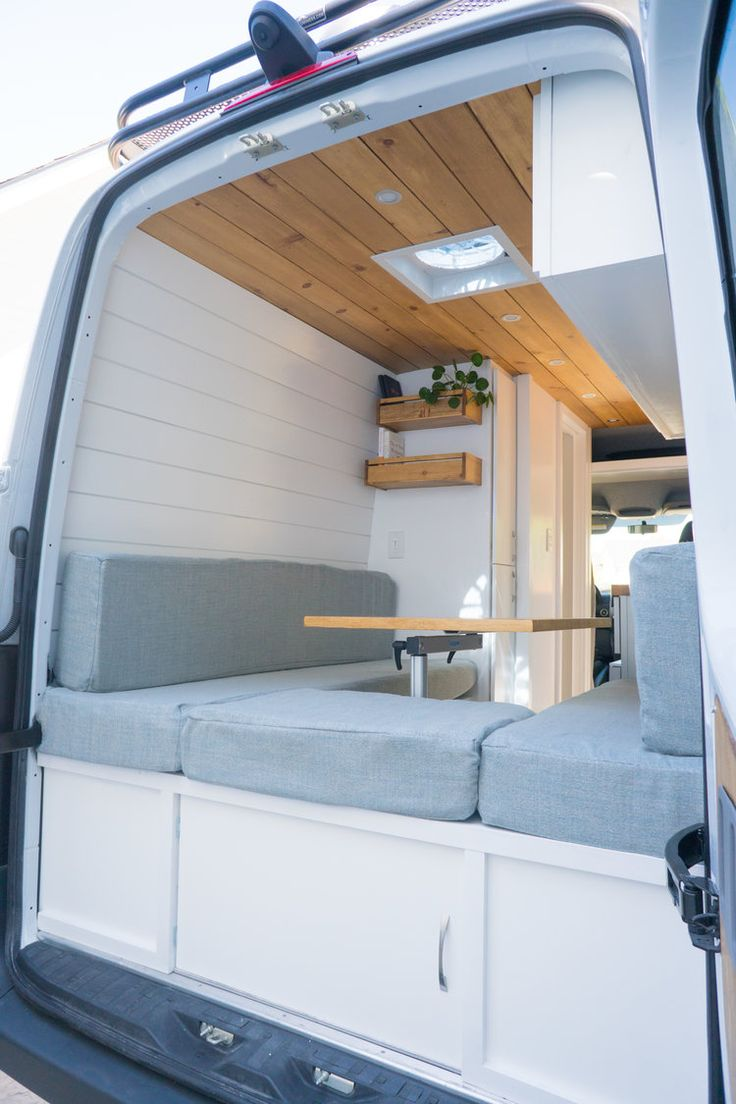 Van Conversion with a bathroom