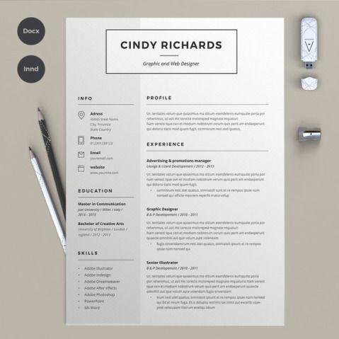 45 layouts de currículos criativos feitos no Microsoft Word para você se inspirar | Virgula
