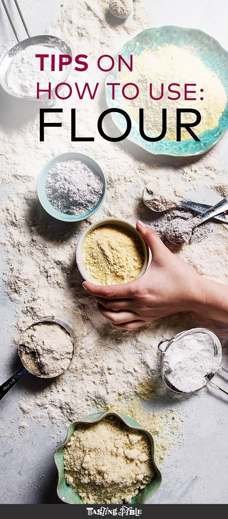 Sift through our guide to all the flour varieties you'll ever need.