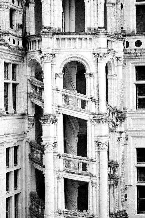 : Of Chambord, Staircases, Loire Valley, Castle, Architecture, Chateau De, Place