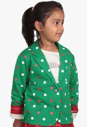 My Little Lambs Green Winter Jacket Online Shopping Store
