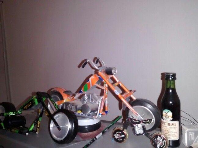 Chopper y bober de latas...