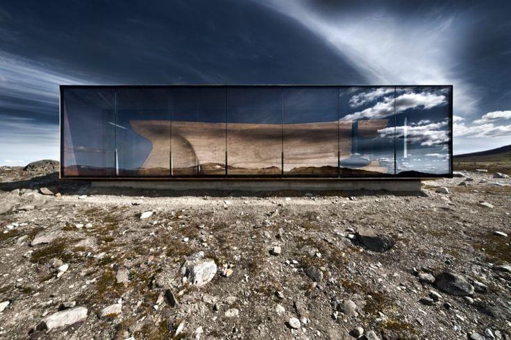 The Norwegian Wild Reindeer Centre Pavilion  by Snøhetta / photo by diephotodesigner.de