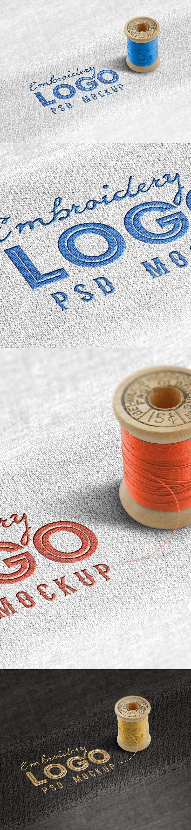 Friends! Let's see what we have for you today! This is a Fabric Embroidered Logo Mockup Template which is an ideal logo design to make your logo like a realistic embroidered logo on a fabric or piece of cloth. You can easily change the background fabric color or the logo and thread colors according to your liking. Feel free to get it and give your design a cool and fun look!