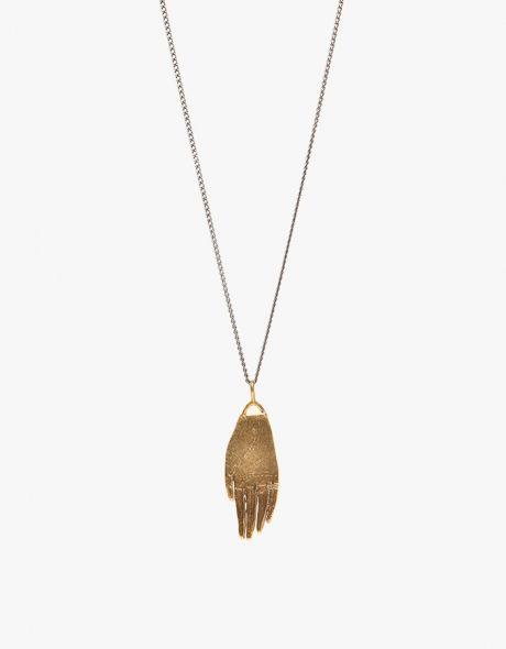 Hand Amulet Necklace