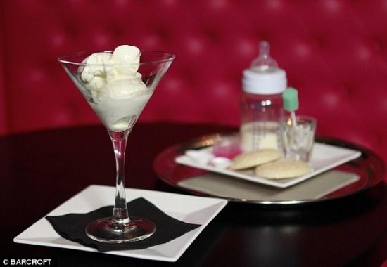 London Restaurant Sells Breast Milk Ice-Cream Called Baby Gaga