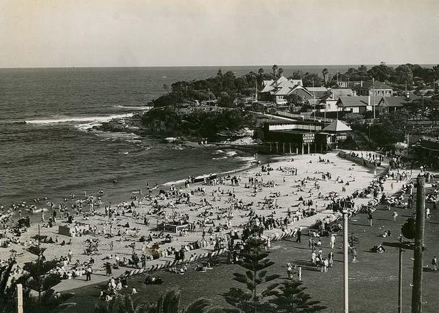 Cronulla Beach, Sydney by State Records NSW, via Flickr Pre 1940's