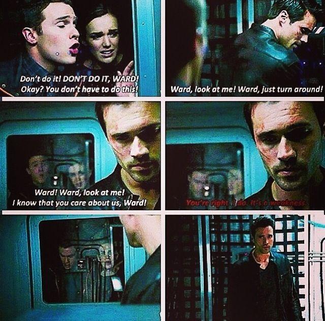 Noooooooo Ward!!! How dare you do that to Fitz and Simmons!! | Agents of SHIELD