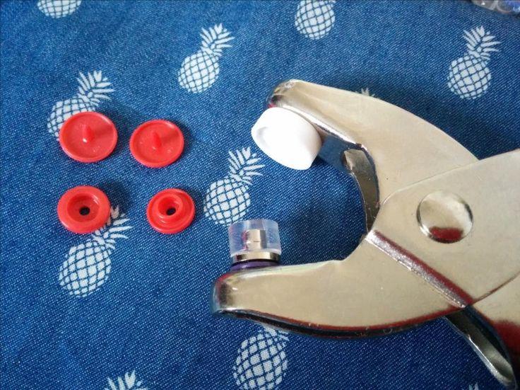 Les 213 meilleures images propos de couture pour la maison sur pinterest porte pingles - Poser bouton pression sans pince ...