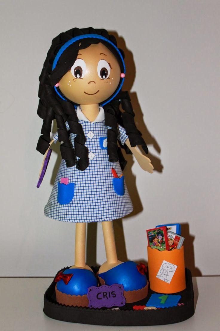 Le Petite Vintage: Fofucha Maestra Escuela Infantil.