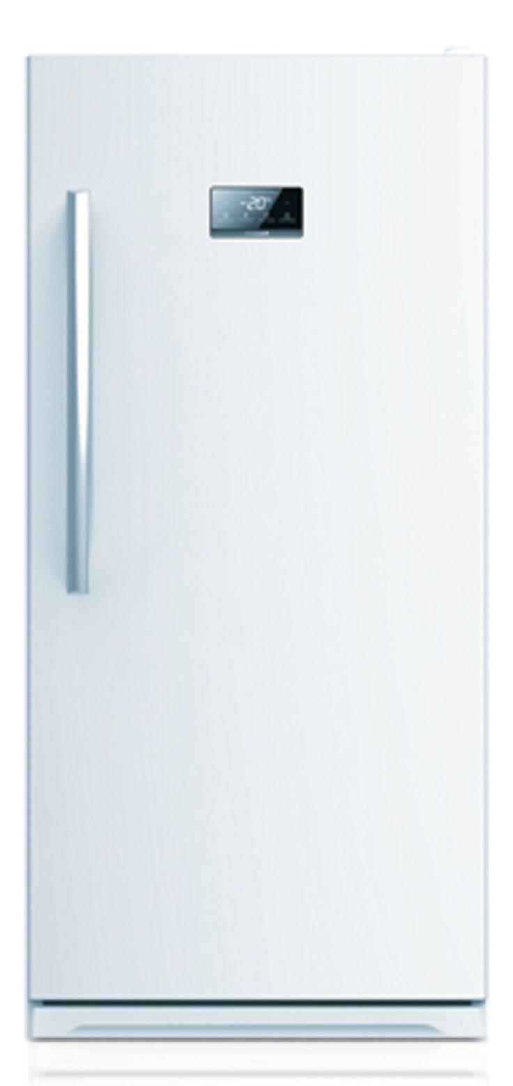 Midea stainless steel compact single reversible door upright freezers - Midea 13 7 Cu Ft Upright Freezer