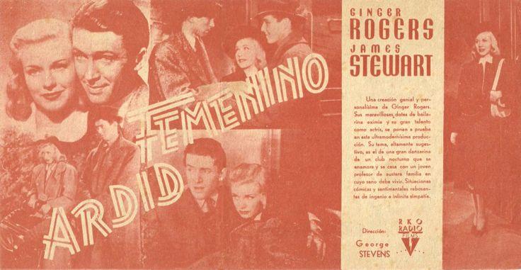 "Ardid femenino (1938) ""Vivacious Lady"" de George Stevens - tt0030944"