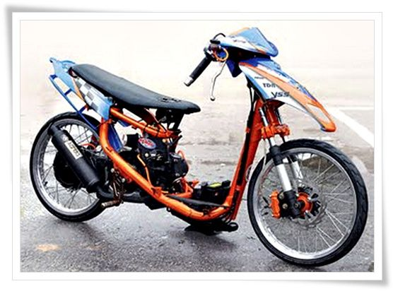 Modifikasi Motor Matic 1