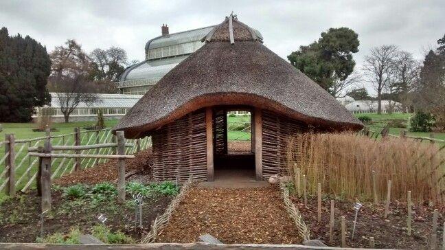 Viking house & Garden/  baseada em achados arqueológicos em Dublin/ IE 01/2017