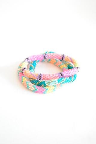 Lily & Laura bracelets. Logan got me 2 and Karen got me 2 for Christmas 2014! :)