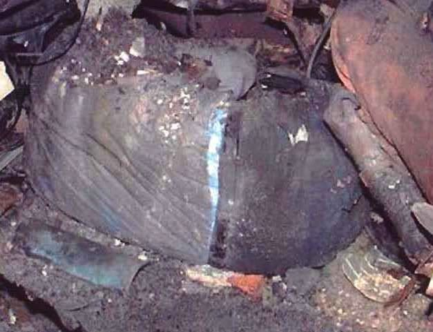 911 bodies remains