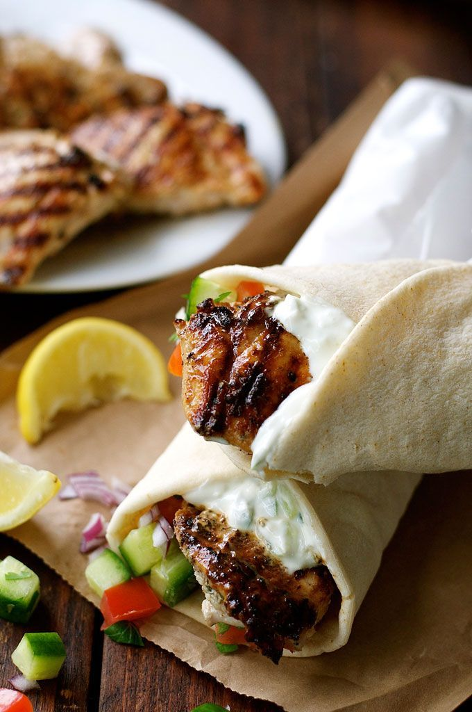 The marinade for this Greek Chicken Gyros recipe is so good, I use it even when I'm not making gyros! This is super fast and easy too.