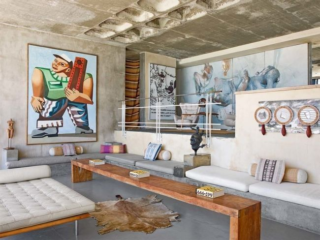 The best art-filled walls that have ever been in Vogue Living: From a French photographer's beachside South African home  Photographed by Montse Garriga