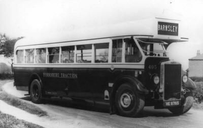 Yorkshire Traction 495 Leyland Tiger
