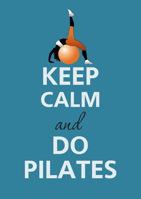 Keep calm and do pilates by KCalmGallery on Etsy                              …