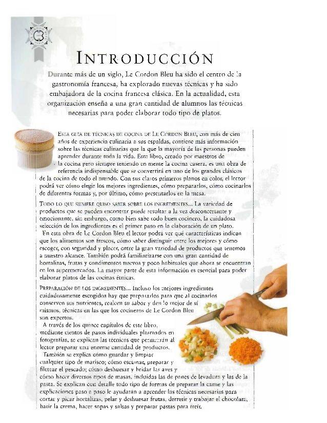 Guía Completa De Las Tecnicas Culinarias Le Cordon Bleu En 2020 Le Cordon Bleu Tecnicas Culinarias Libros De Recetas