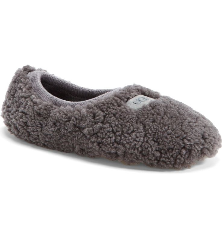 A fluffy, genuine shearling slipper is set on a flexible suede sole and lined in cozy UGGpure—a textile made entirely from wool, but engineered to feel and wear like genuine shearling.