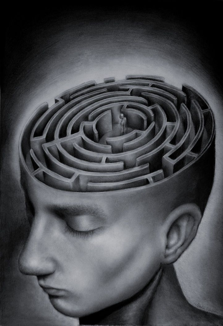 Sebastian Eriksson is an 18-year-old up and coming surrealist artist living in Sweden. Not only is his artwork amazing, it's extremely thought-provoking as he adds descriptions of how his pieces relate to his life. See more at his online gallery http://sebmaestro.deviantart.com/gallery/