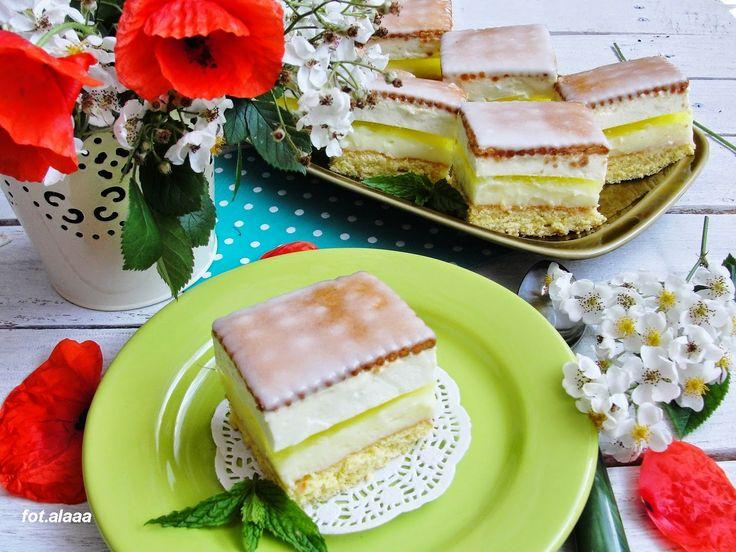 Ala piecze i gotuje: Ciasto cytrynowe