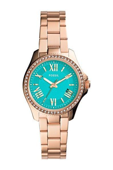Women's Cecile Small Crystal Bezel Bracelet Watch. Sponsored by Nordstrom Rack.