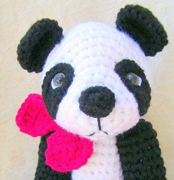 Amigurumi Crochet Panda Pattern   Supergurumi   591x570