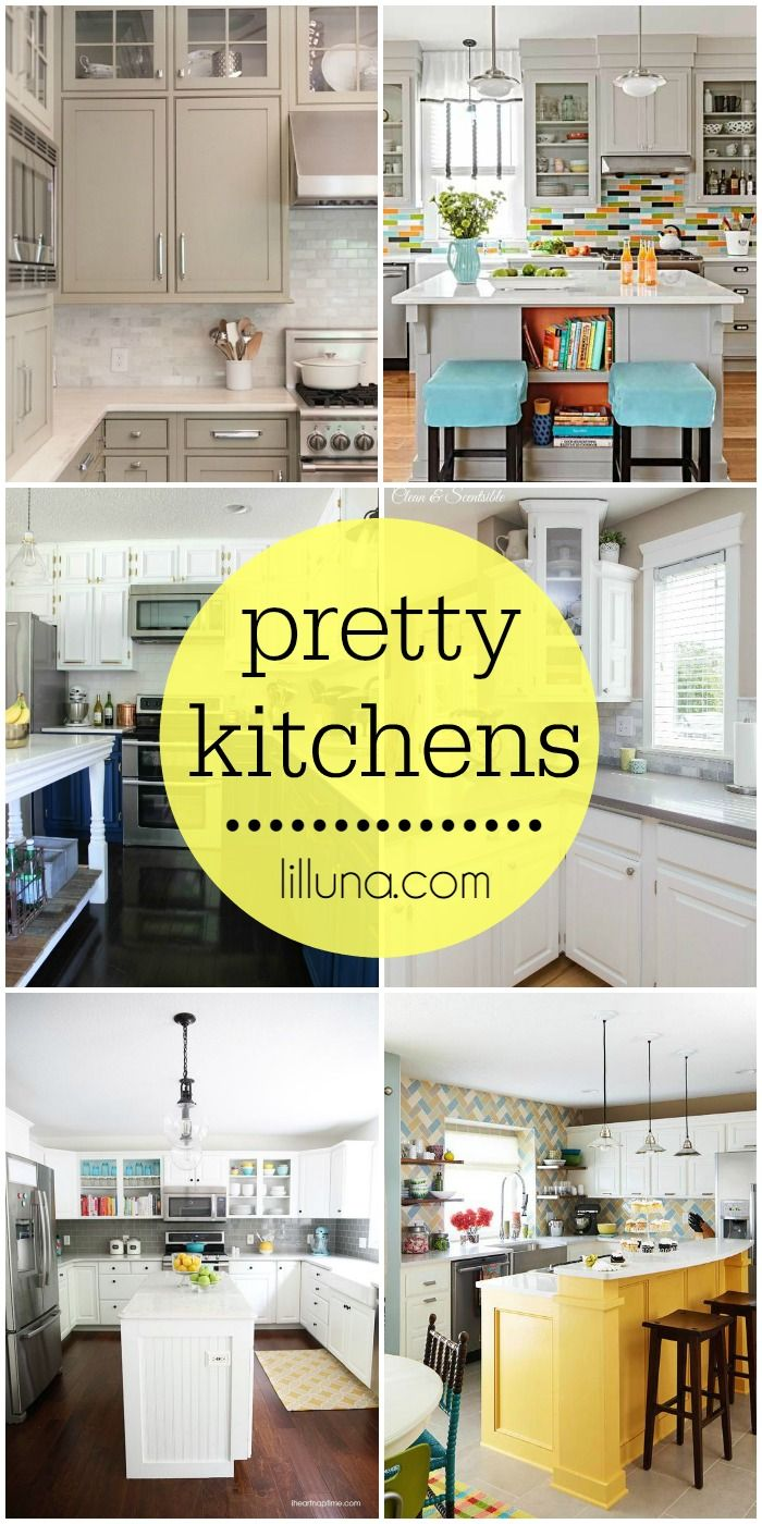 A Roundup Of Beautiful Kitchens To Inspire Your Own Kitchen Design Check It Out On Lilluna
