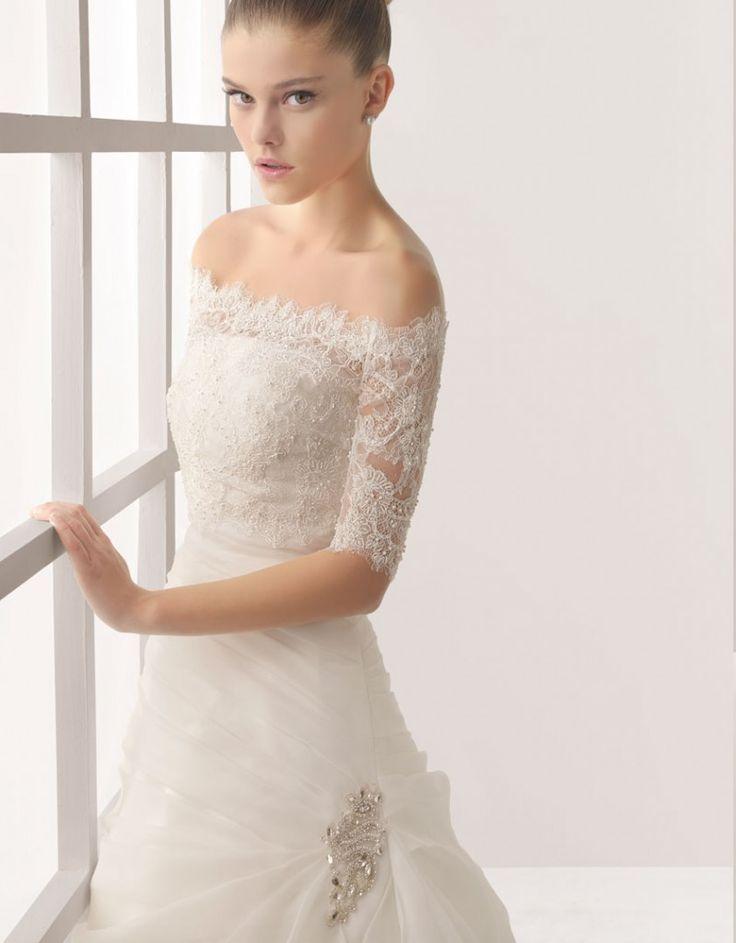 11 best Tipos de mangas en vestidos de novia images on Pinterest ...