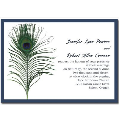 cheap peacock wedding invitations online at elegantweddinginvitescom - Peacock Wedding Invitations Cheap