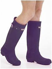 Women's Wellies - Ladies Purple Wellington Boots - Size 7 UK - EU 41